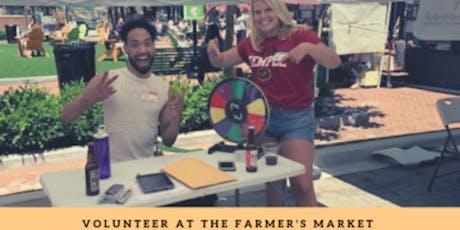Farmer's Market Volunteer tickets