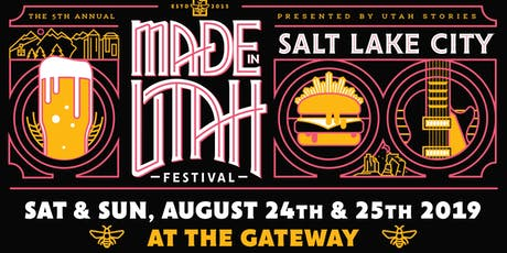 Made in Utah Festival 2019 tickets