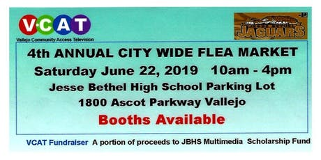 Flea Market, 4th Annual City Wide tickets