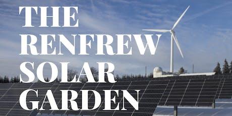 Renfrew Solar Garden Open House #1 tickets
