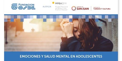 EMOCIONES Y SALUD MENTAL EN ADOLESCENTES. Destinad