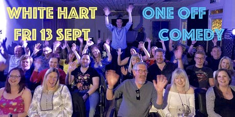 One Off Comedy Night - White Hart (Andover) tickets