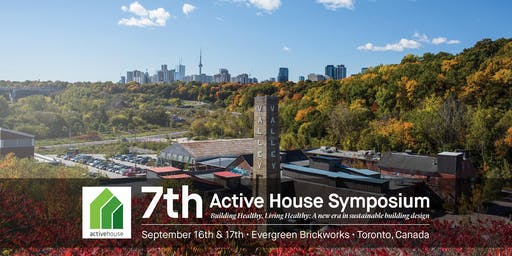 Active House Symposium 2019 - Toronto, Canada