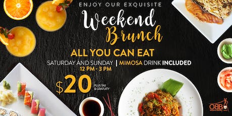 Weekend Brunch @ Obba Sushi tickets