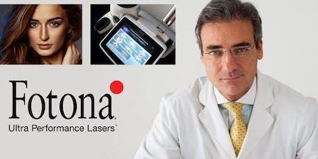 Fotona Laser LIVE Presentation & Demonstration with Dr. Adrian Gaspar tickets