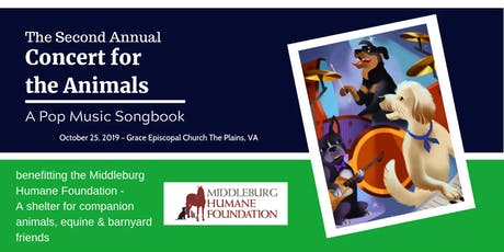 Concert for the Animals - A Pop Music Songbook tickets