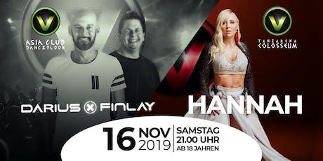 Darius x Finlay & Hannah LIVE im V-Club Villach Tickets