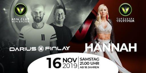Darius x Finlay & Hannah LIVE im V-Club Villach