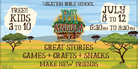 Jamii Kingdom - Vacation Bible School tickets