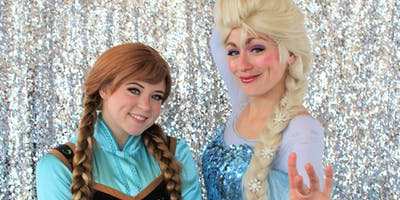 The Royal Treatment with the Frozen Sisters
