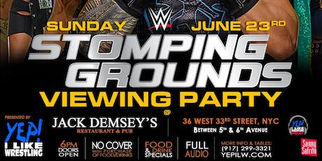 WWE Stomping Grounds Viewing Party, presented by YEP! I Like Wrestling tickets