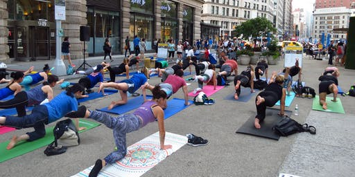 Flatiron Wellness Wednesday - All Levels Yoga