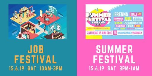 Studentenactie Jobfestival! Ga gratis naar het Summerfestival Vlissingen!