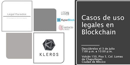 Casos de blockchain y abogados, ¿es eso posible?