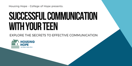 Successful Communication With Your Teen tickets