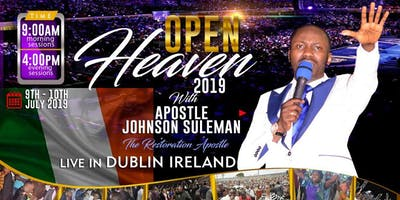 Open Heavens 2019  Dublin Ireland
