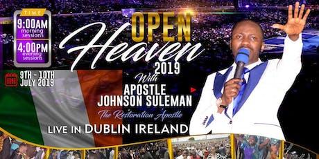Open Heavens 2019  Dublin Ireland tickets