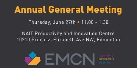 EMCN's Annual General Meeting tickets