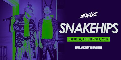 Snakehips - Ravine Atlanta tickets