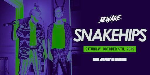 Snakehips - Ravine Atlanta