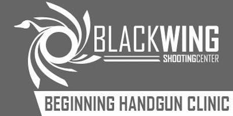 Beginning Handgun Clinic tickets