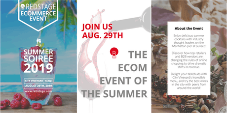 Redstage's Summer Soiree - Ecommerce Merchants Only tickets