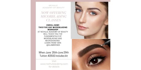 Microblading Certification Program at Neihule Academy of Beauty tickets