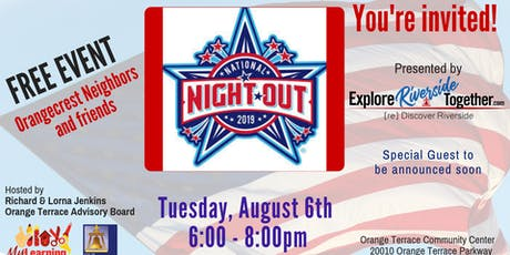 National  Night Out - Orangecrest tickets