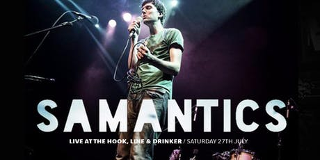 Samantics live at the Hook, line and drinker tickets