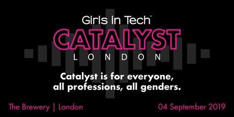 Girls in Tech Catalyst Conference London tickets