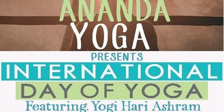INTERNATIONAL DAY OF YOGA tickets
