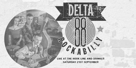 Delta 88 live at The Hook, Line & drinker tickets
