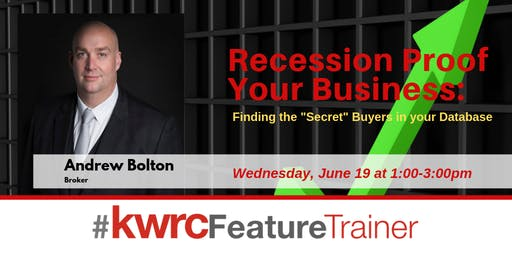 Recession Proof Your Business: Finding the 'Secret' Buyers in your Database