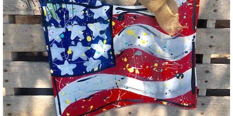 God Bless America - Flag Door Hanger tickets