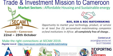 SECAM: Climate Resilient and Energy-efficient Low Cost Buildings in Africa tickets