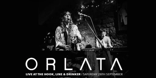 Orlata live at The Hook, line and drinker