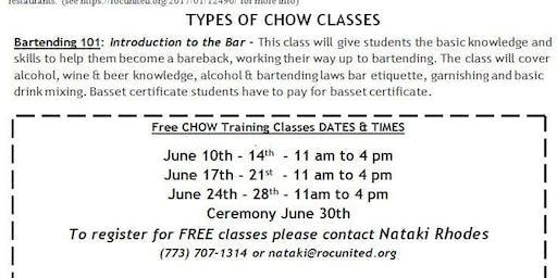 CHOW Fine Dinning & Bartending Course