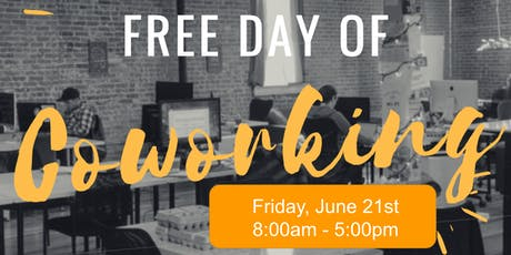 Free Day of Coworking at Collider Coworking tickets