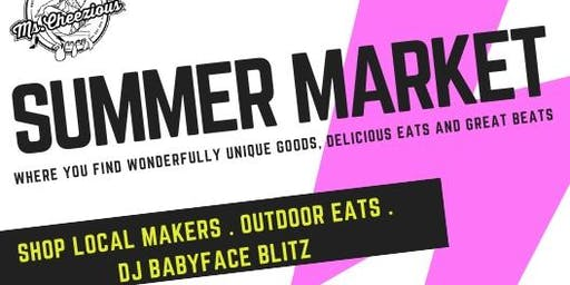 SUMMER MARKET AT MS. CHEEZIOUS