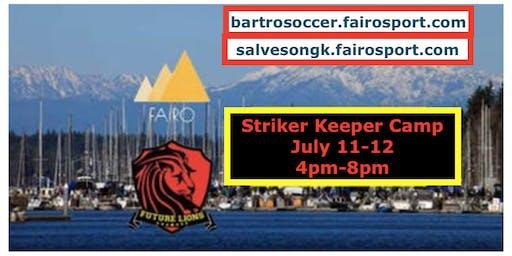 Olympia Goalkeeper and Striker Camp  w/ Salveson GK &  Tim Bartro