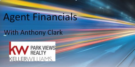 Agent Financials with Anthony Clark tickets