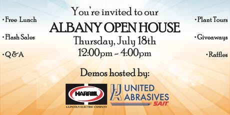 Albany Open House tickets