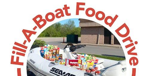 Fill-A-Boat Food Drive!