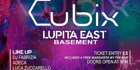 Cubix Chapter 2 tickets