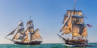 Tall Ship Battle Sail, Friday Evening