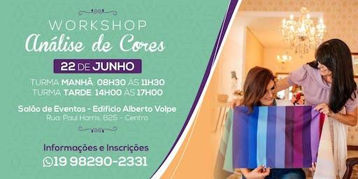 Workshop Análise de Cores