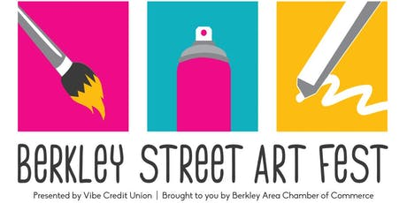Berkley Street Art Fest tickets