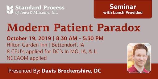 Modern Patient Parodox