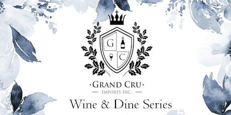 Grand Cru Wine & Dine Series tickets