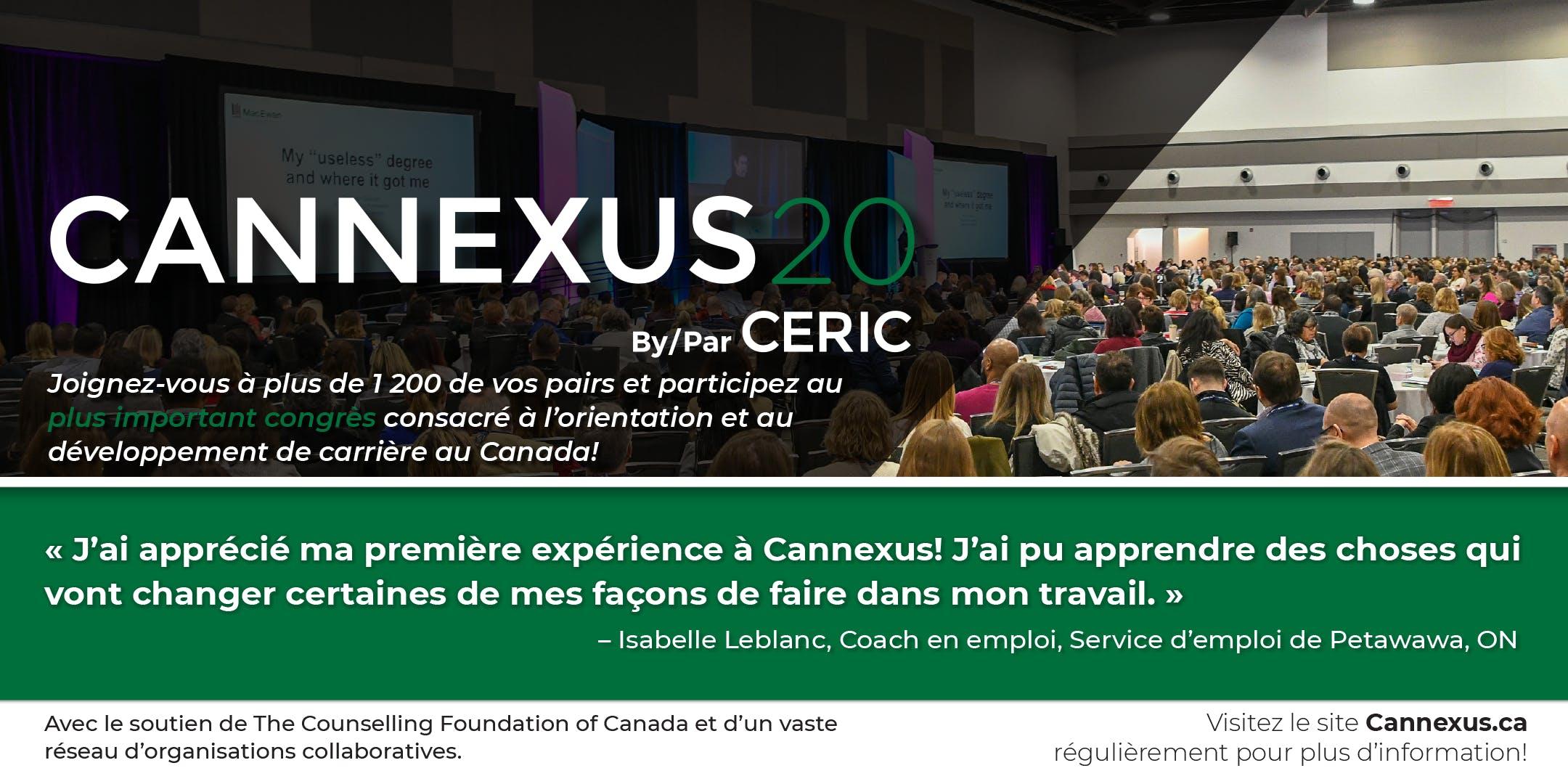 Cannexus20 - Super avantageux